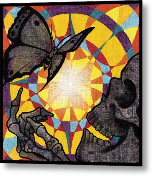 Change Mandala Metal Print