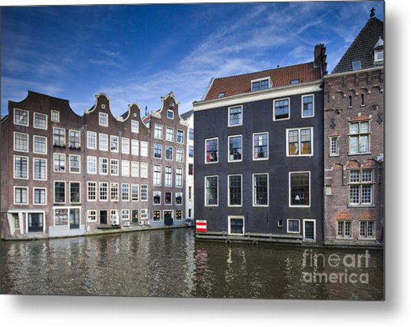 Channles Of Amsterdam Metal Print by Andre Goncalves