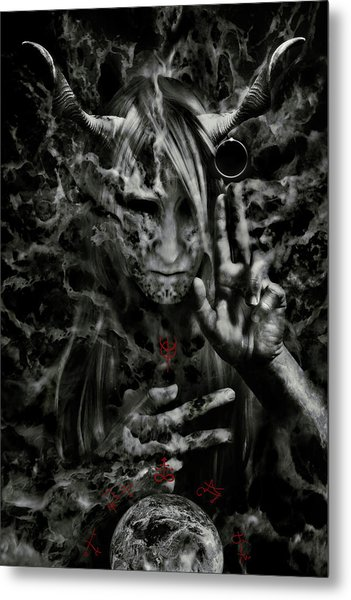 Chaosbringer Metal Print by Cambion Art