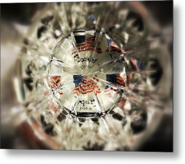 Chaotic Freedom Metal Print