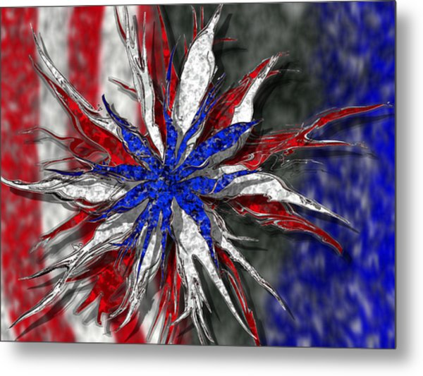 Chaotic Star Project - Take 3 Metal Print