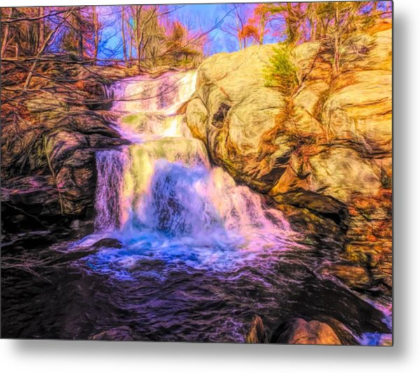 Chapman Falls Connecticut Metal Print