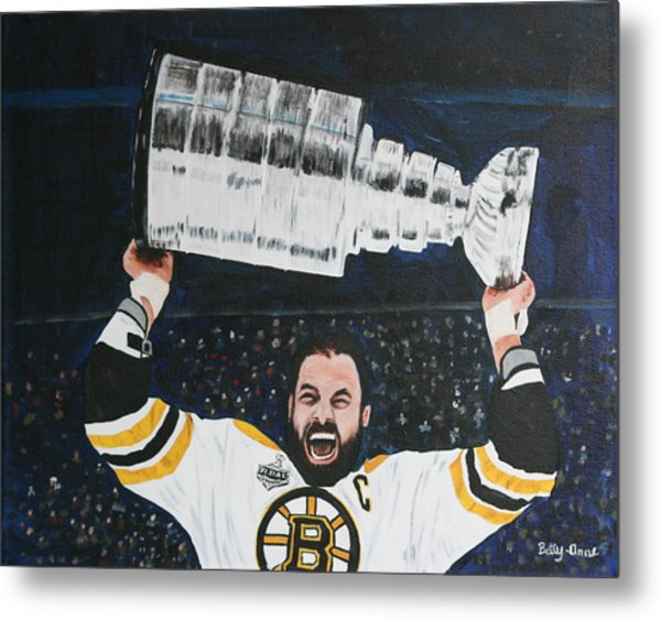 Chara And The Cup Metal Print