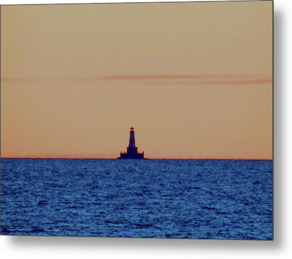 Charity Light Metal Print