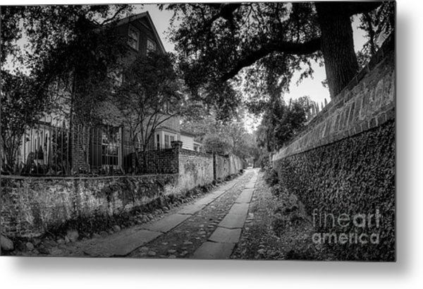 Charleston Ally Path Metal Print