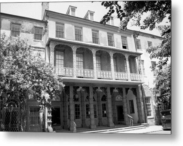 Charleston Architecture Metal Print