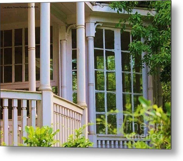Charleston Architecture. Old Naval Housing Metal Print