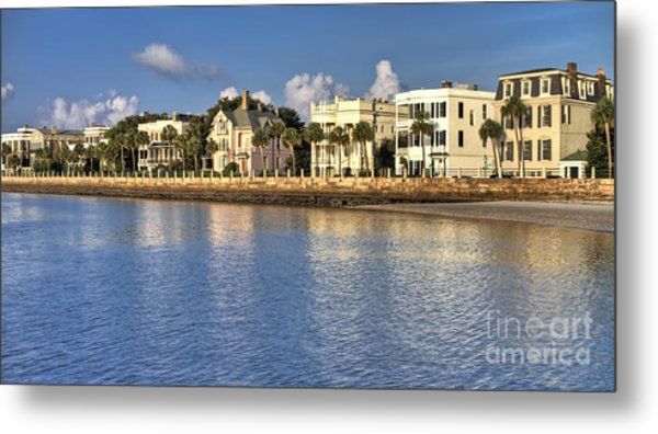 Charleston Battery Row South Carolina  Metal Print