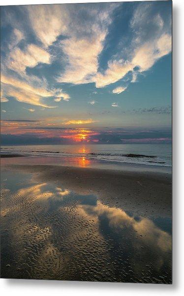 Charleston Coast Sunrise Metal Print