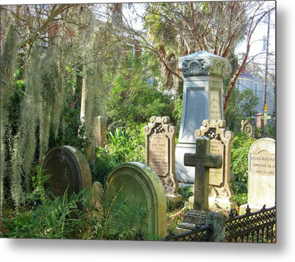 Charleston Graveyard Metal Print