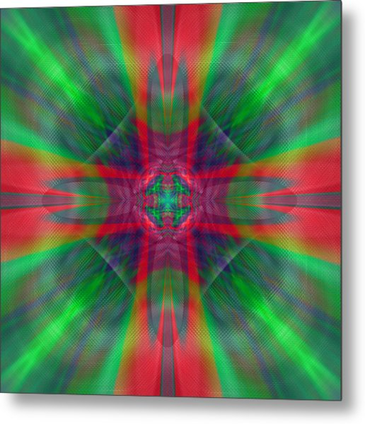 Charmed Luminescence Metal Print