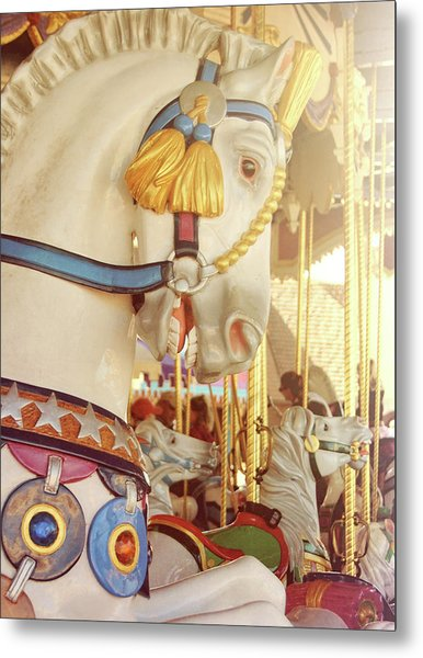 Charming Chariot Metal Print by JAMART Photography