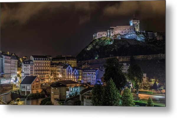 Chateau Fort Of Lourdes Metal Print