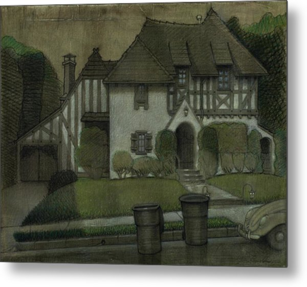 Chateau In The City Metal Print