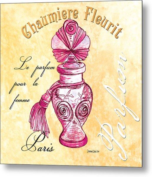 Chaumiere Fleurit Metal Print