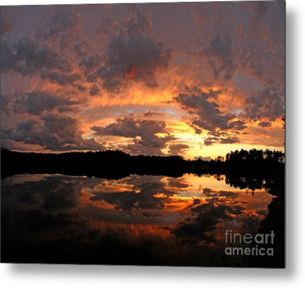 Chauncy Sunset 1 Metal Print