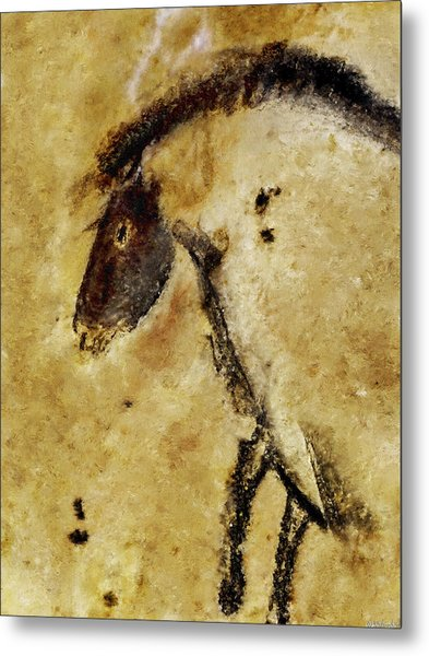 Chauvet Horse Metal Print