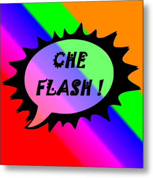 Che Flash Metal Print