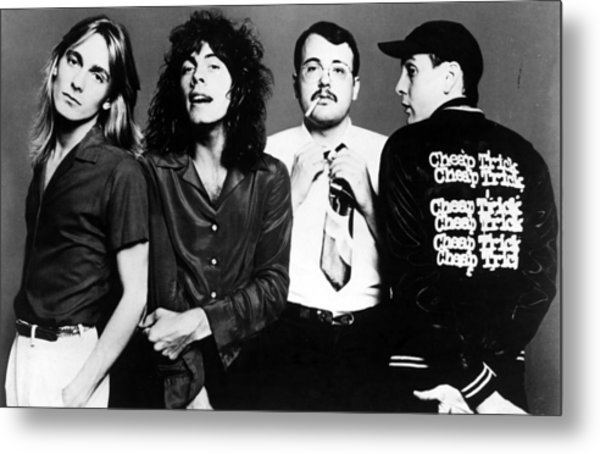 Cheap Trick, Robin Zander, Tom Metal Print by Everett