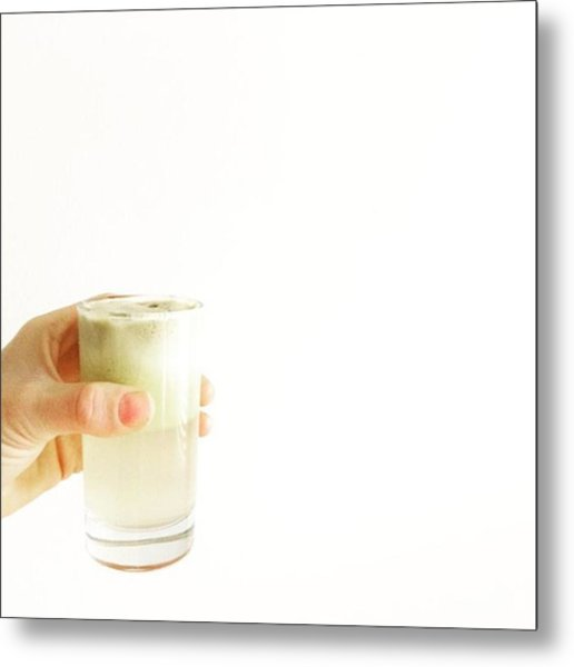 Cheers, Happy Humpday! #juice #raw Metal Print