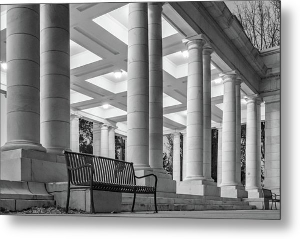 Metal Print featuring the photograph Cheesman Pavillion by Philip Rodgers