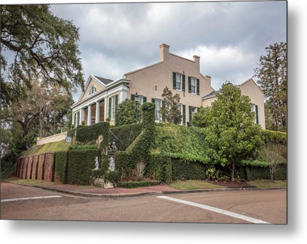 Cherokee House Natchez Ms Metal Print