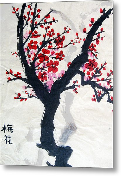 Cherry Blossom Painting By Boya L