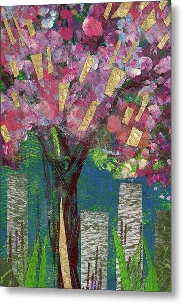 Cherry Blossom Too Metal Print