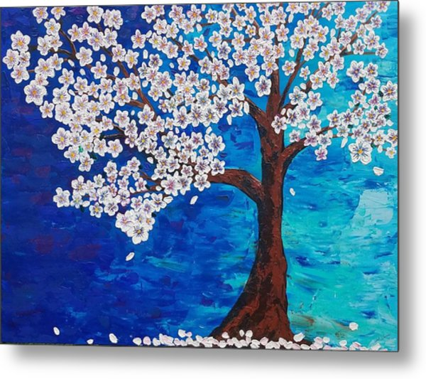 Cherry Blossom Tree  Metal Print