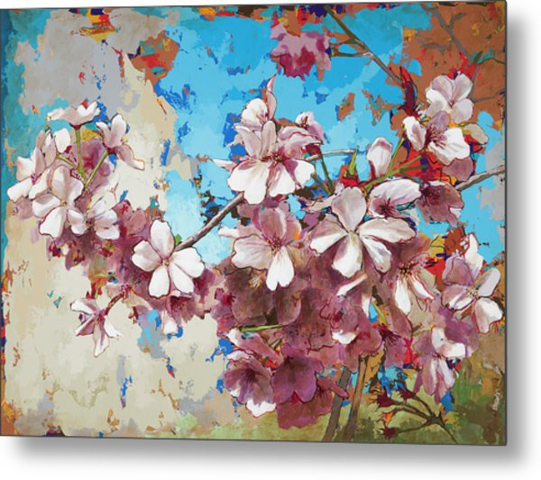 Cherry Blossoms #3 Metal Print