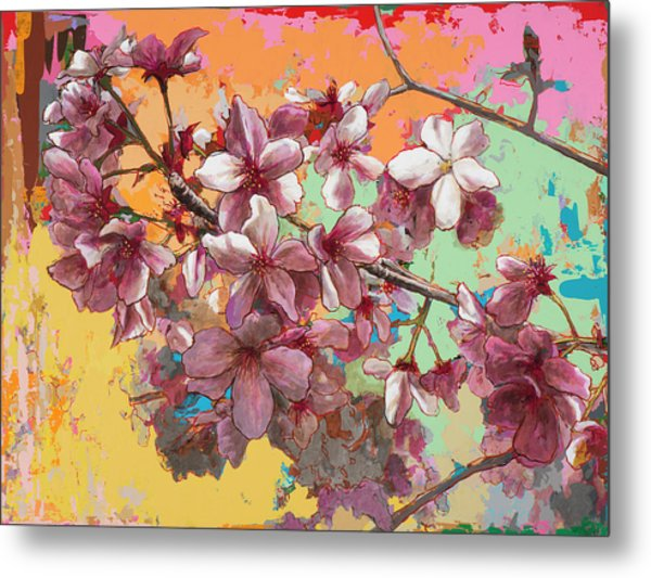 Cherry Blossoms #5 Metal Print