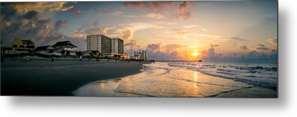 Cherry Grove Panoramic Sunrise Metal Print
