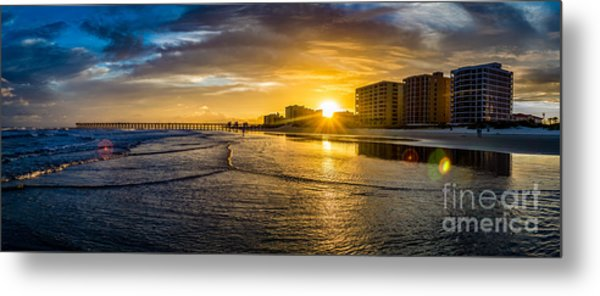 Cherry Grove Sunset Metal Print