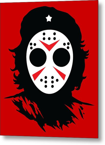 Metal Print featuring the digital art Che's Halloween by Christopher Meade