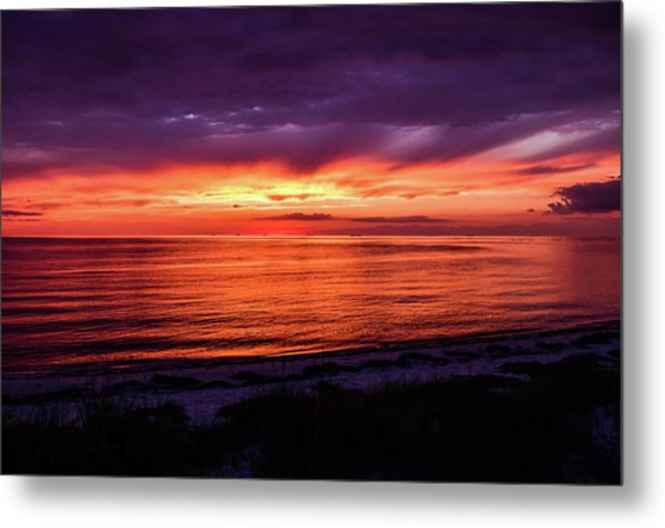 Chesapeake Bay Sunset Metal Print