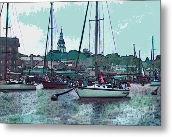 Chesapeake Bayscape Metal Print