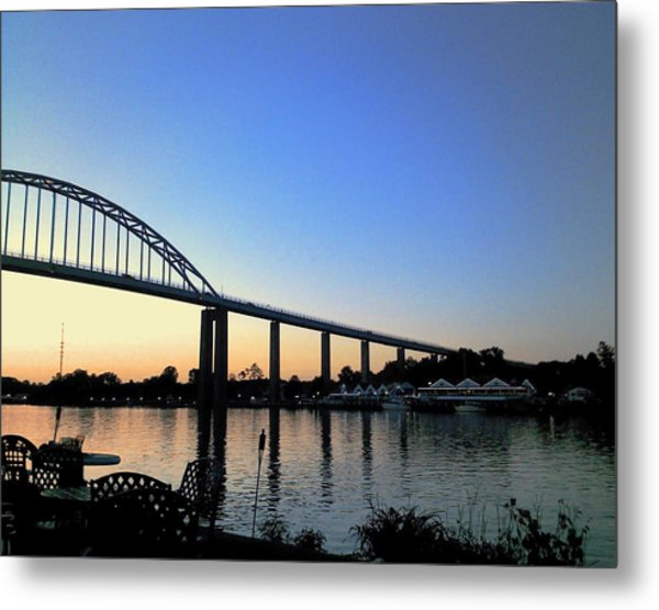 Chesapeake City Metal Print