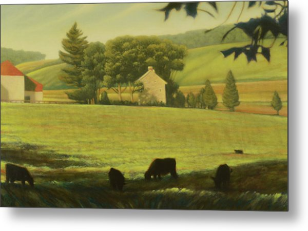 Chester County Pennsylvania Landscape Metal Print
