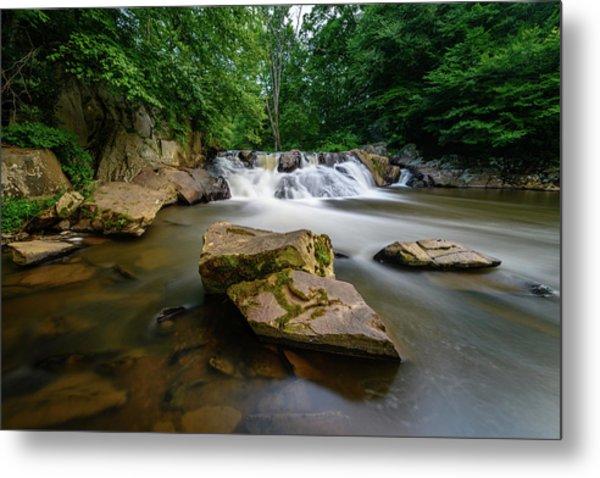 Chestnut Creek Falls  Metal Print