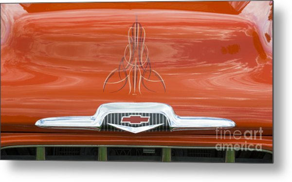 Chevrolet 30-1956 Hydramatic 3100 Metal Print