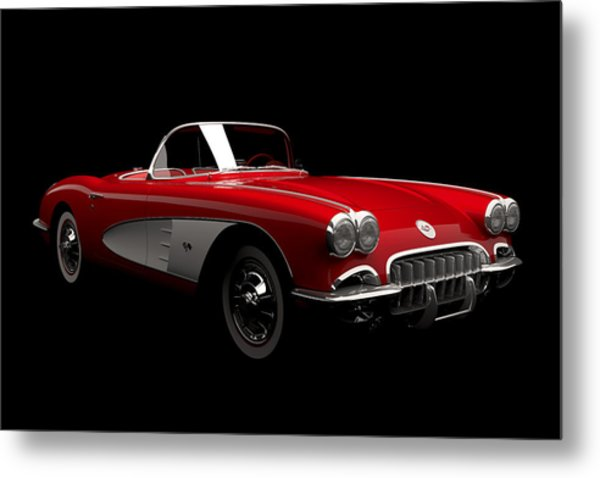 Chevrolet Corvette C1 Metal Print