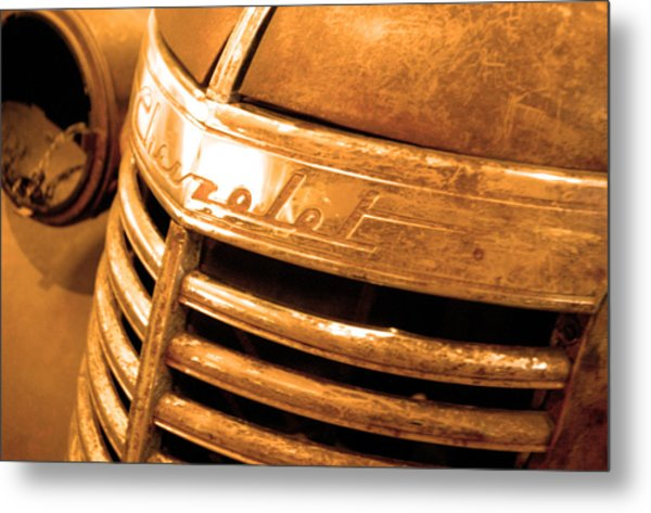Chevrolet Pick Up  Metal Print by Jez C Self