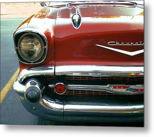 Chevy Bel Air  Metal Print by Jame Hayes