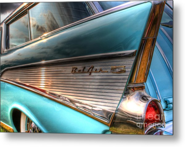 Chevy Bel Air Metal Print