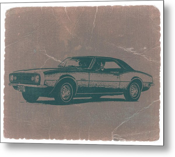 Chevy Camaro Metal Print