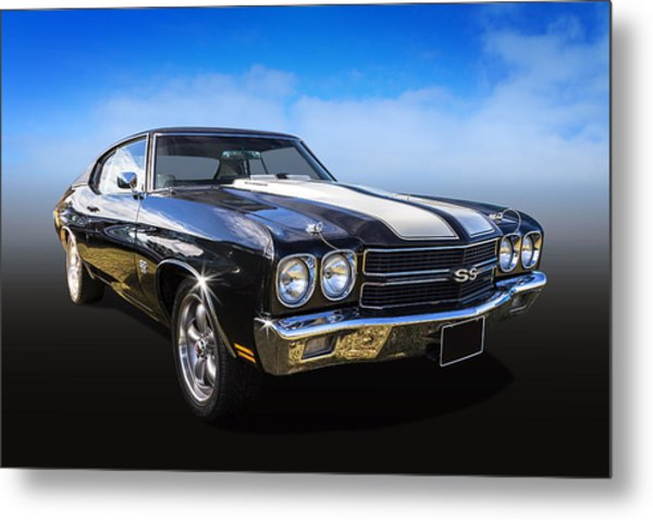 Chevy Muscle Metal Print