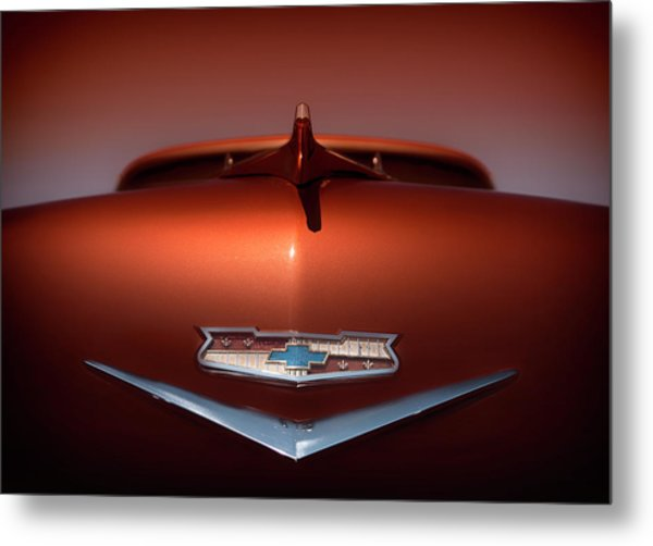 Chevy Nomad Metal Print by Larry Helms