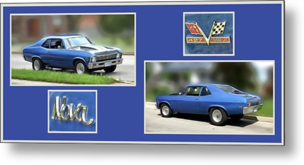 Chevy Nova Horizontal Metal Print