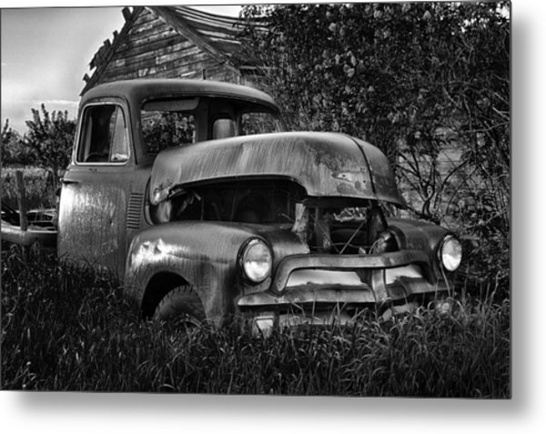 Chevy Workhorse Metal Print