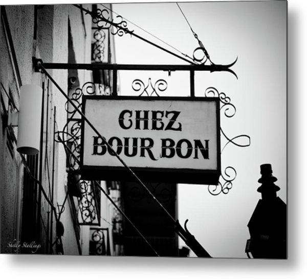 Chez Bourbon  Metal Print